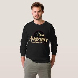 """Anomalia"" da camisola do preto da fonte Moletom"