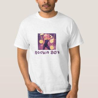 Anos 80 de Rockin Camisetas