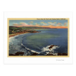 Antena das angras ao longo da costa cartões postais