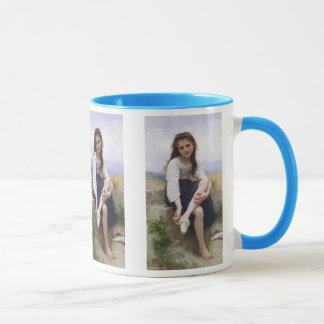 Antes do banho - John William Waterhouse Caneca