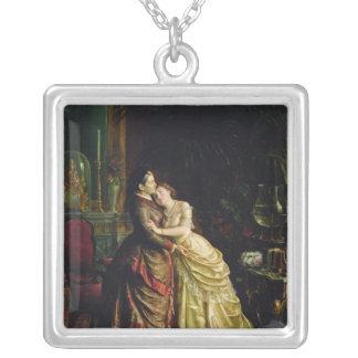 Antes do casamento colar banhado a prata