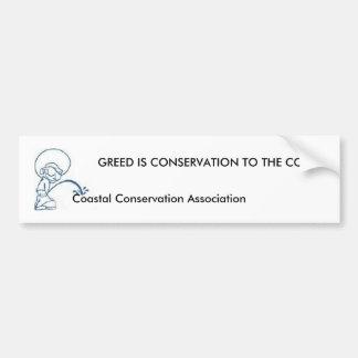 ANTI associação litoral da conservação… Adesivo Para Carro