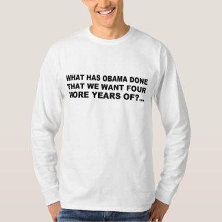 Anti - design do t-shirt e do presente de Obama