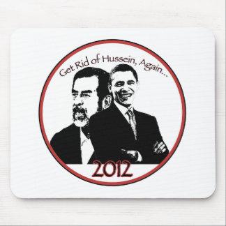 """Anti engrenagem do """"tea party"""" de Obama Mouse Pad"""