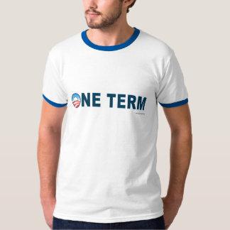 """anti Obama de """"Tshirt um termo"""" T-shirts"""