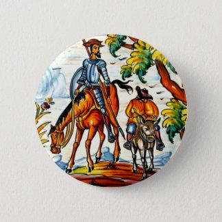 Antiguidade da arte da cerâmica do Majolica de Don Bóton Redondo 5.08cm