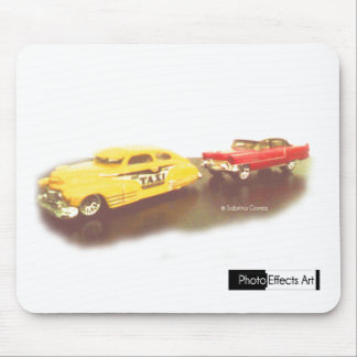Antique Cars Mouse Pad