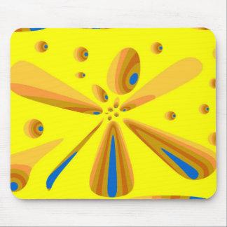 antro amarelo dos dragões mouse pad