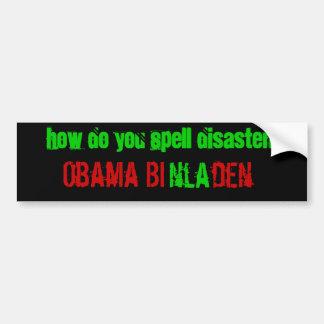 Antro do Bi de Obama (nla) Adesivo Para Carro