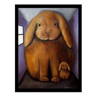 Antro dos coelhos cartão postal