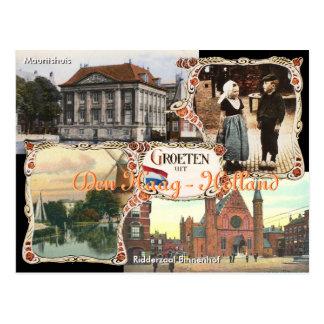 Antro Haag do cartão de Holland do estilo do Cartão Postal