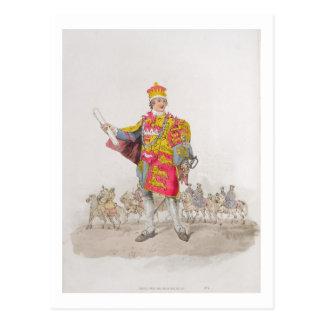 """Anuncie, do """"traje de Grâ Bretanha"""", publicado Cartão Postal"""