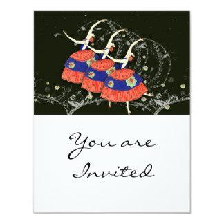 Anúncio da bailarina de Printemps do balé Convite Personalizados