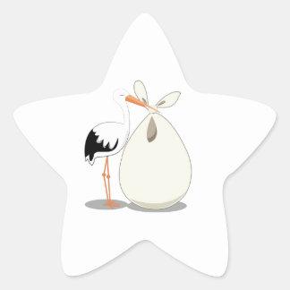 Anúncio do nascimento adesito estrela