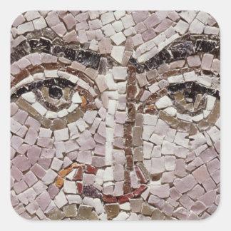 ANÚNCIO justiniano do imperador I c.547 Adesivos Quadrados
