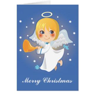 Anúncio pequeno do anjo