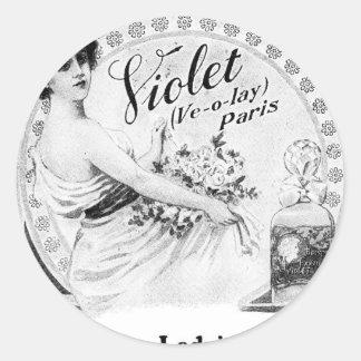 Anúncio velho: Para o Toalete da minha senhora Adesivo