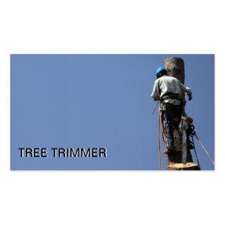 Aparamento da árvore/modelo de cartão de negócios  cartão de visita