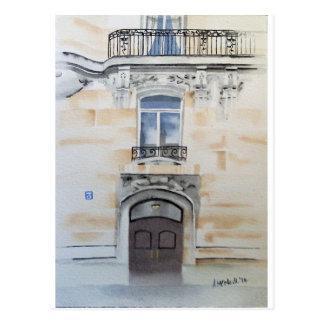 Apartamento parisiense, cartão