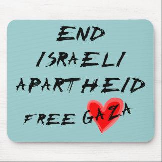 Apartheid do israelita da extremidade mouse pad