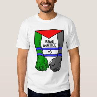 Apartheid do israelita de Carlos Latuff- T-shirt