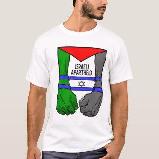 Apartheid do israelita de Carlos Latuff- Tshirt