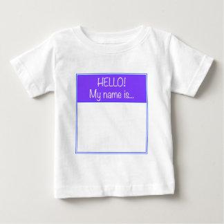 Apenas adicione SEU NOME Camiseta