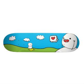Apenas seja amigos shape de skate 18,1cm