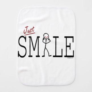 Apenas sorriso paninho de boca