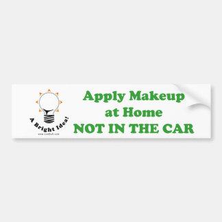 Aplique a composição em casa NÃO NO CARRO Adesivo Para Carro