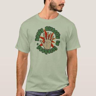 Aplique à testa t-shirt