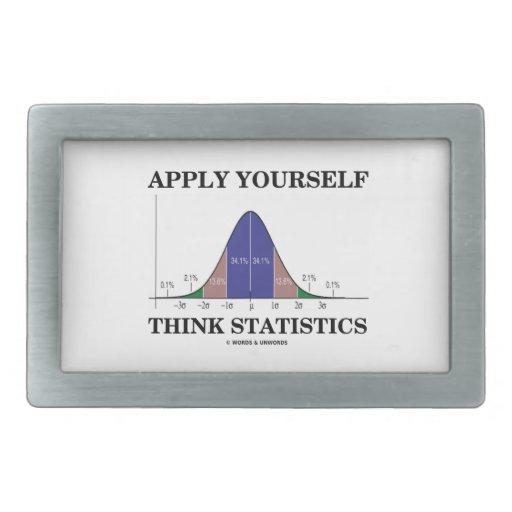 Aplique-se pensam estatísticas (o humor da curva d