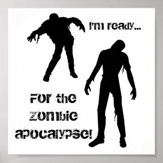 apocalipse do zombi pôster