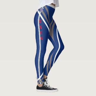 Apoie as caneleiras #5 das tropas leggings