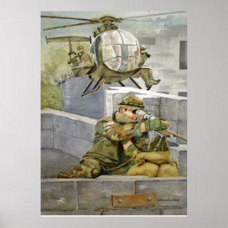 Apoie nossas forças especiais do poster militar da