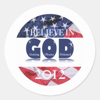 Apoio América IBIG2012 Adesivo
