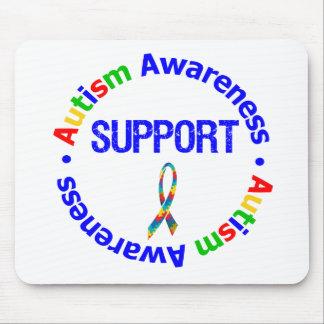 Apoio da consciência do autismo mousepad