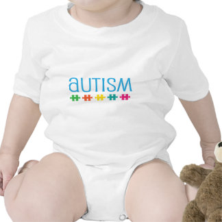Apoio da parte do quebra-cabeça do autismo babadores