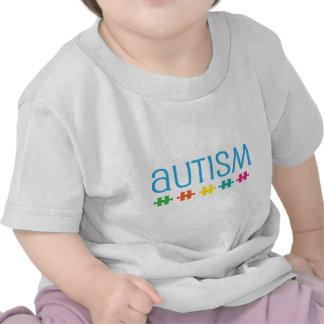 Apoio da parte do quebra-cabeça do autismo tshirt