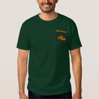 Apoio, - {DM} - ganso Camisetas