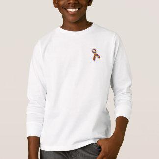 Apoio do autismo, citações do autismo, consciência t-shirt