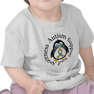 Apoio do autismo e ideia do presente da tshirt
