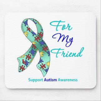 Apoio do autismo para meu amigo mousepad
