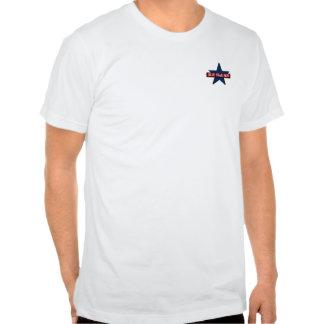 Apoio militar da família da mamã da estrela azul camiseta