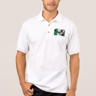 Apoio Nigéria Camiseta Polo