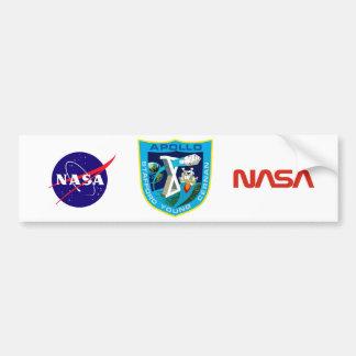 Apollo 10:  À lua outra vez! Adesivo Para Carro