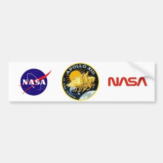 Apollo 13: Sobrevivência Adesivo Para Carro