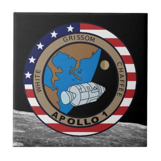 Apollo 1 azulejos