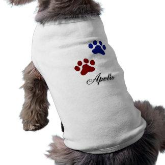 Apollo Camisa Sem Mangas Para Cachorro