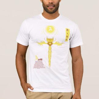 Apollo cruza-se, nome de Apollo, riku de Apollo Camiseta